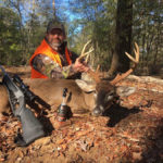 Brad Frost with a Whitetail deer in Georgia.